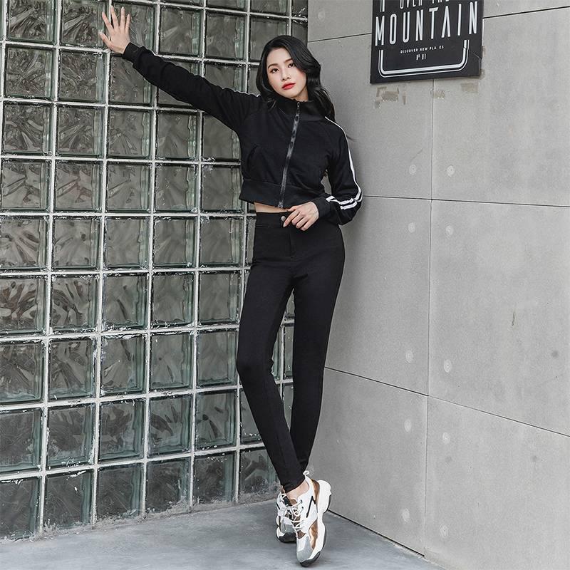 韩国lets diet魔术裤女电臀薄款秋冬外穿高腰修身lets打底小脚