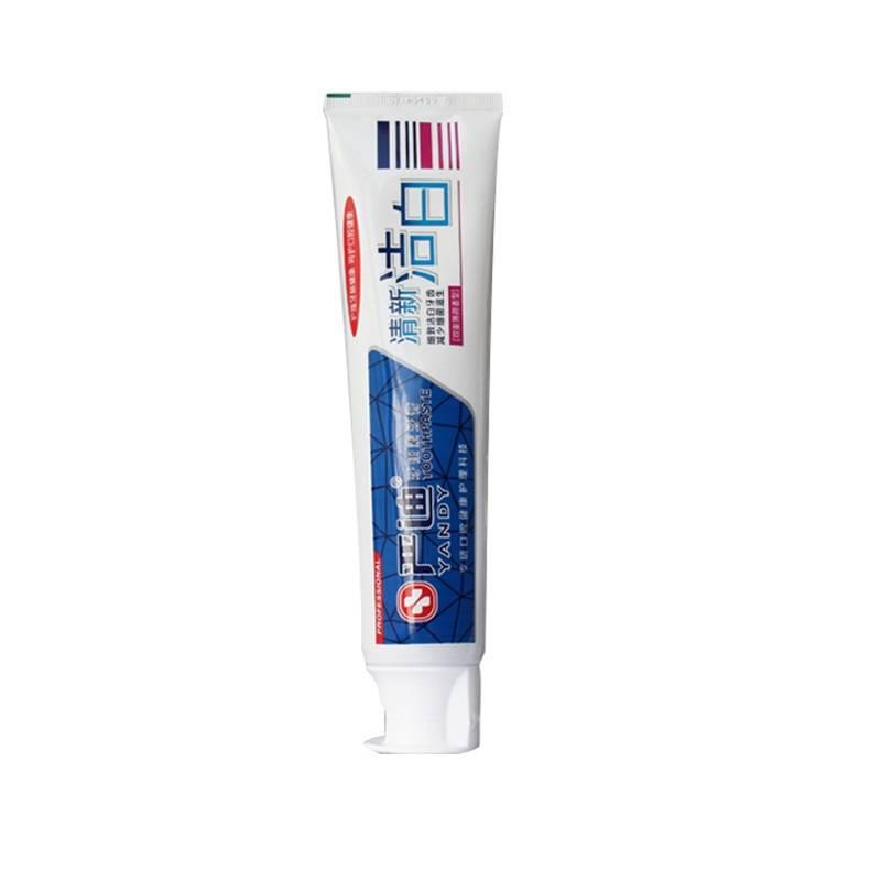 严迪牙膏家庭组合2支:清口气劲爽牙康素牙膏210g+清新洁白牙康素牙膏210g