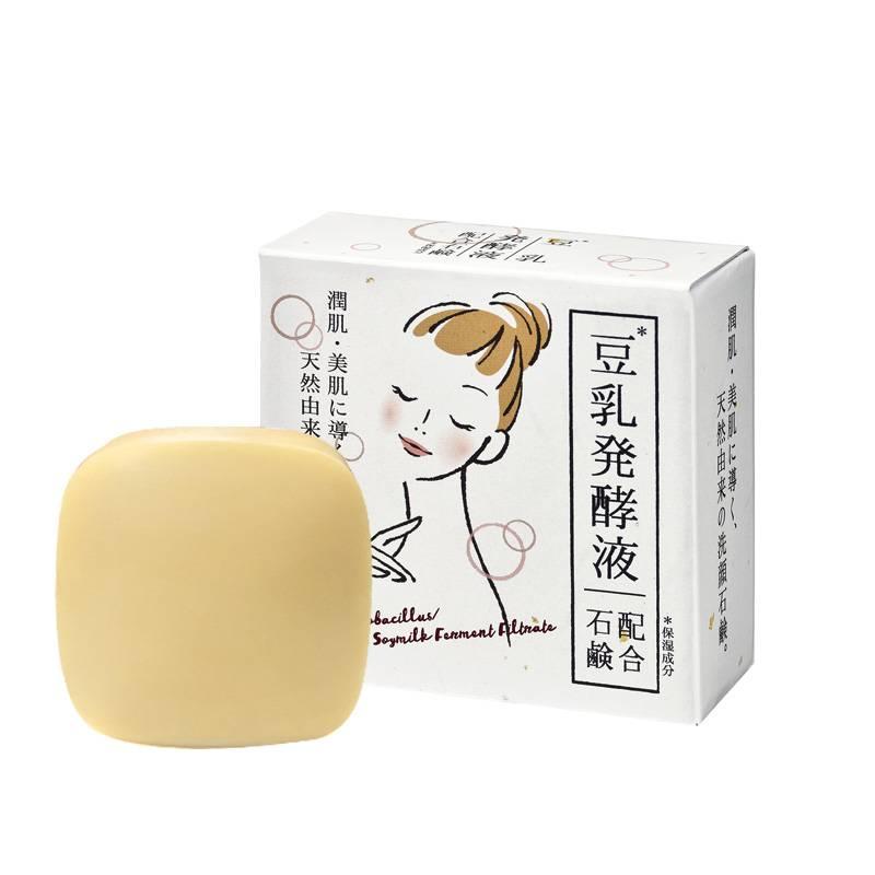 日本进口 奈逸洛柯豆乳香皂