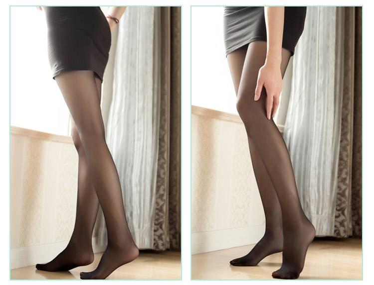 日本原装进口NAVY丝袜连裤袜夏季薄款防勾丝微压美腿塑形丝袜女(4条装)